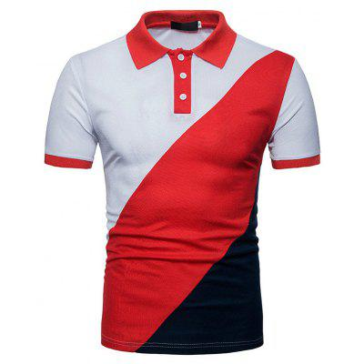 Summer New Color  Men's Short Sleeve Polo Shirt