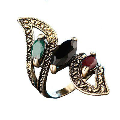 Women'S Exquisite Vintage and High Quality Resin Ring