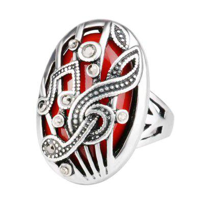 Bohemian Hollowed-out Set of European and American Vintage Rings