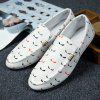 Summer New Style Cloth Driving Urban Fashion Men'S Shoes - WHITE