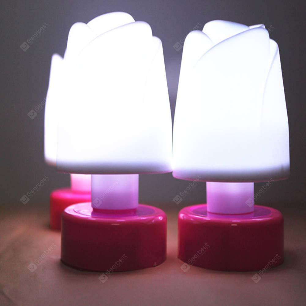 New Small Romantic and Warm Roses Pat Light Table Lamp 1PC