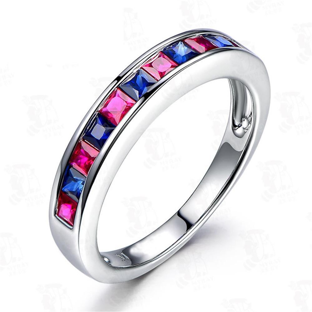 Creative Round Colorful Ladies Ring