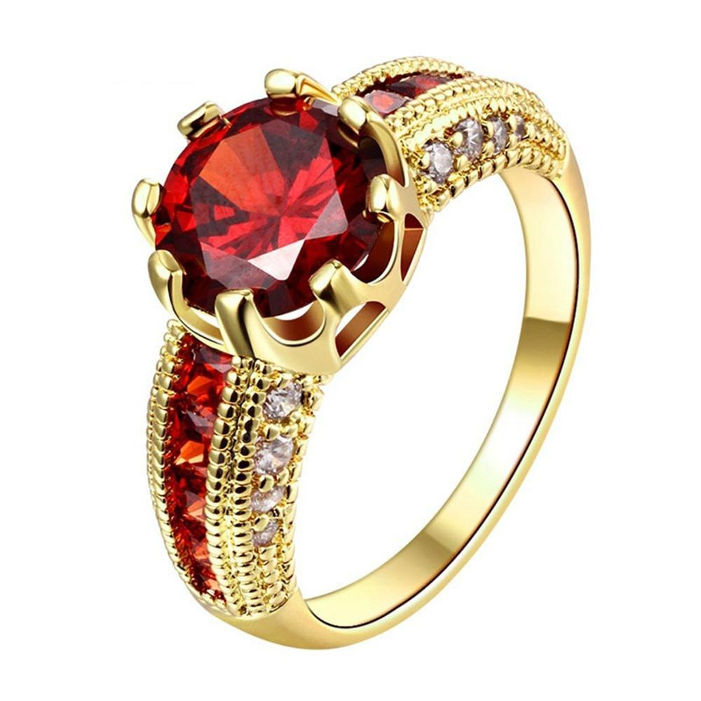 Moda creativa Ruby Lady Ring