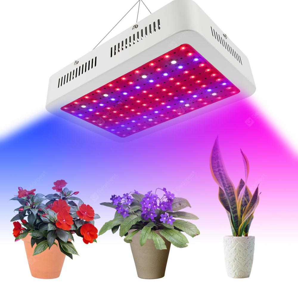 1000Wled 1000W Single Core LED Plant Grow Lamp 85V - 265V UK Plug - WHITE