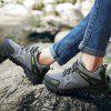 HOMASS Men Casual Wear Outdoor Climbing Breathable Shoes - GRAY
