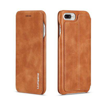 LC.IMEEKE Thin Lightweight Leather Stand Case for iPhone 7 Plus / 8 Plus