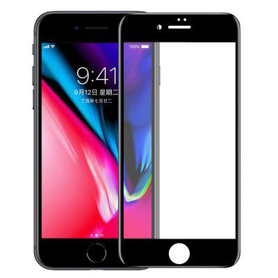 Mr.northjoe 3D Curved Edge Tempered Glass for iPhone 6 Plus / 6S Plus