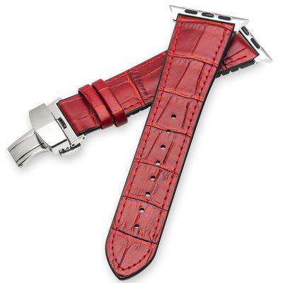 ROPS Natural Rubber Leather Watch Strap for IWatch