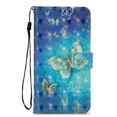 3D Wallet Stand Case for Motorola Moto G5S Plus Butterfly Pattern kinston heart of the ocean pattern pu leather full body case w stand for motorola moto g