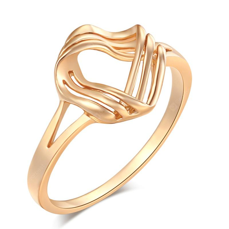 Personality Curve Fashion Ring J1111
