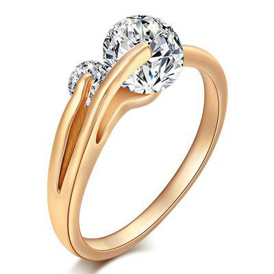 Fashion Beautiful Zircon Ring J1141