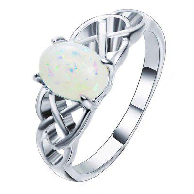 High-end Creative Flower Design Simple Fashion Ring