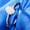 New Type of Women's Simple Diamond Fashion Ring - SILVER