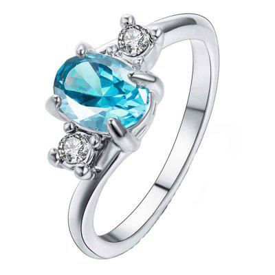 The New Model Simple and Stylish Sapphire Ring