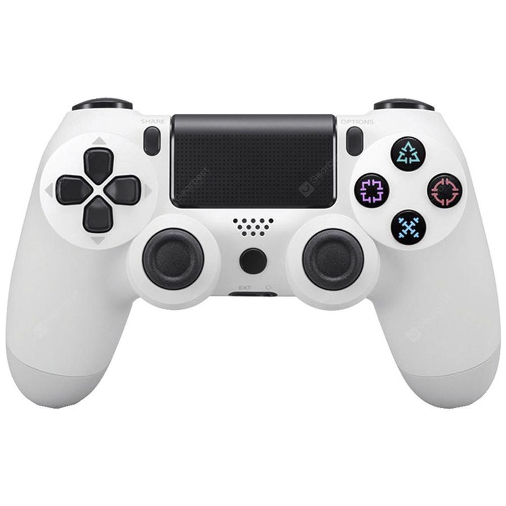 Wireless Game Controller with Bluetooth - WHITE