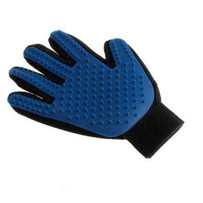 Silicone Pet Brush Gloves Wash Gentle and Efficient Beauty Dog Bath Cat Cleaning