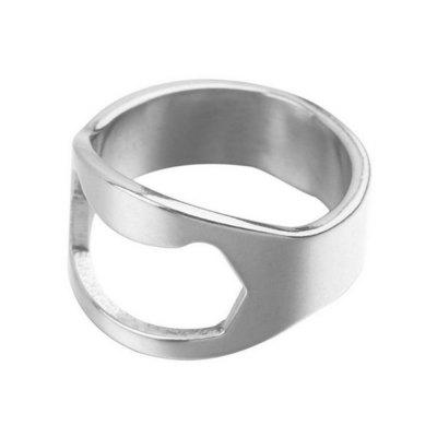 Unique Creative Multipurpose Stainless Steel Ring Beer Opener unique beer drinking hard hat camouflage green