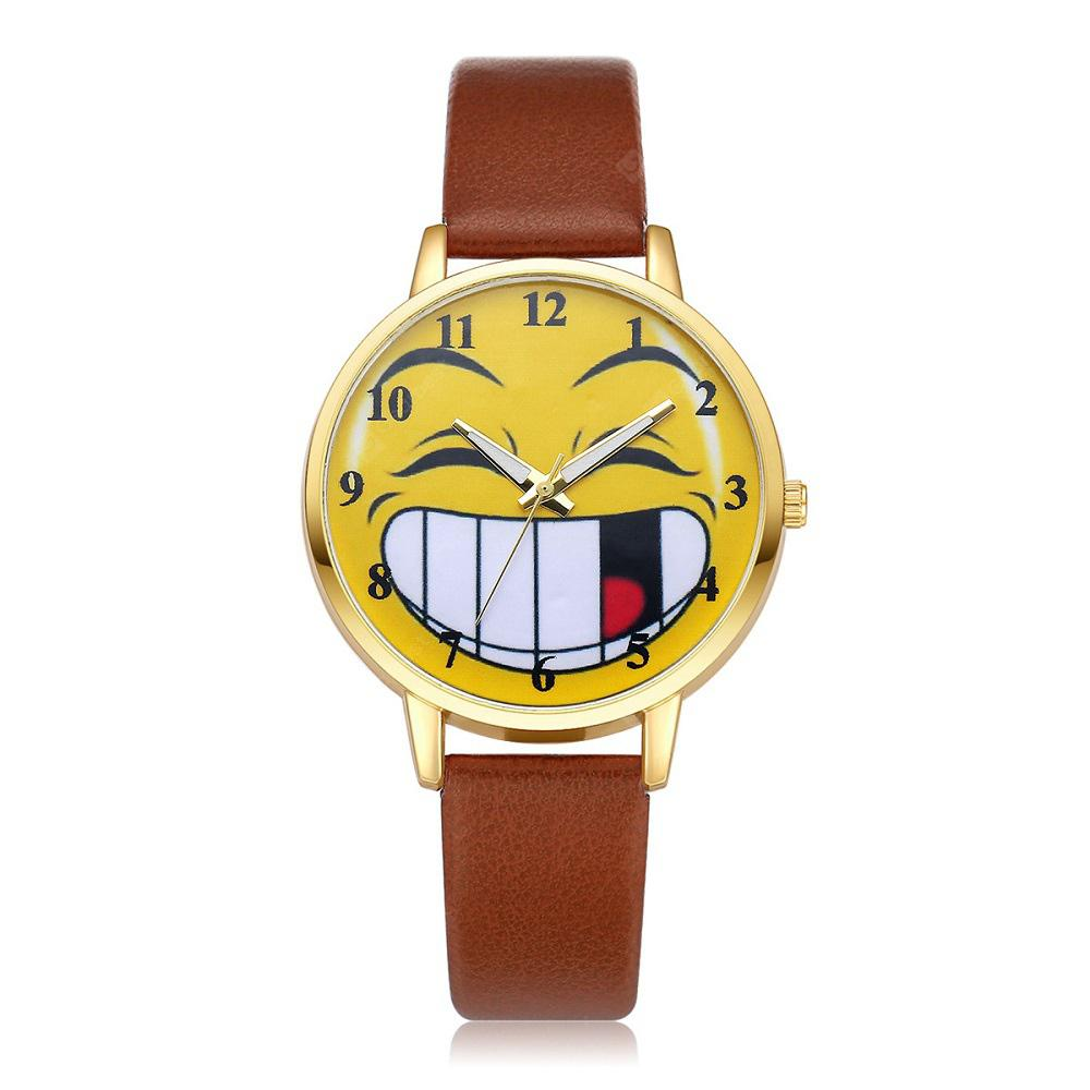 Funny Personality Cute Quartz Students Watch