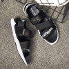 Men Casual Hiking Sandals Slippers - BLACK
