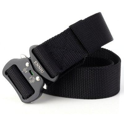 ENNIU New Men Adjustable Combat Web Waistband Rescue Rigger Belt Width 4.3CM