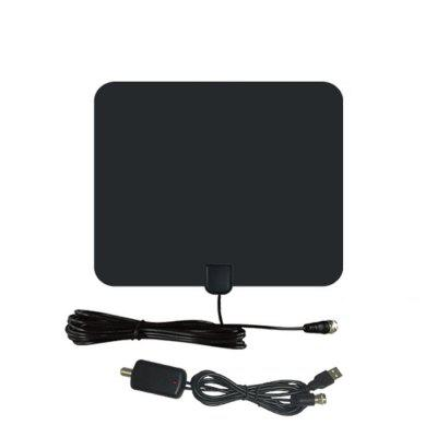 50 Miles Amplified HDTV Antenna Indoor 2018 Amplifier TV Antenna Digital