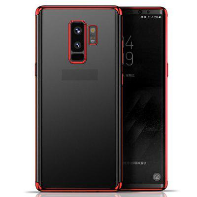 Transparante TPU Plating Case voor Samsung Galaxy S9 Plus