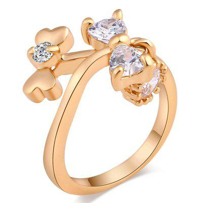 Fashion Exquisite Design Zircon Ring J1424