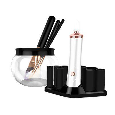 Electric Makeup Brush Cleaner and Dryer for All Size Makeup Brushes