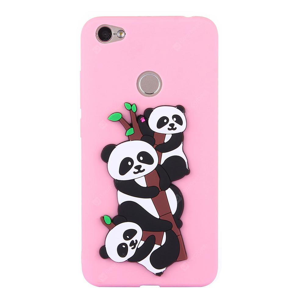 Case for Xiaomi Red Mi NOTE 5A Soft 3D Panda Phone Shell