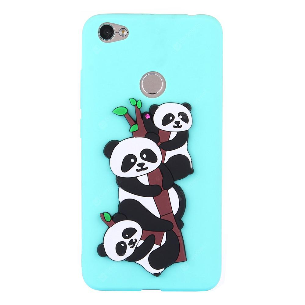 Custodia per Xiaomi Red Mi NOTA 5A Soft 3D Panda Phone Shell
