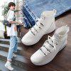 Spring Ladies' Korean Socks Shoes - WHITE
