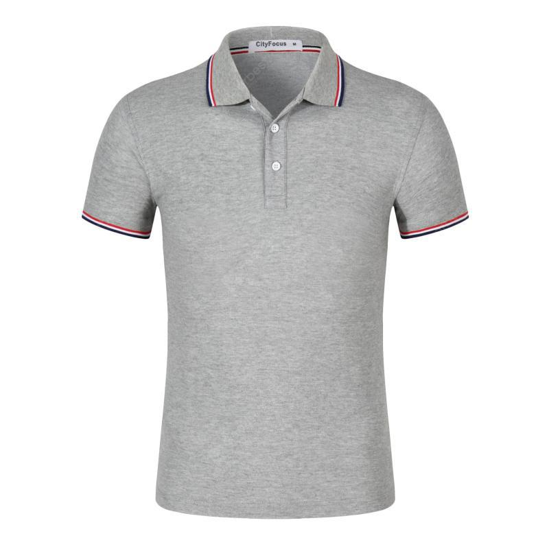 Loose Casual Short-sleeved Polo Shirt