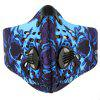 Outdoor Dustproof Mask with Activated Carbon Surface - BLUE