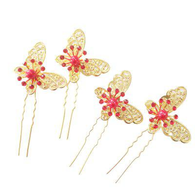 Hollow Out Butterfly Hair Pin