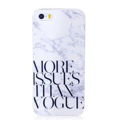 Characters Fashion Marble Soft TPU Phone Case for iPhone 5/5S/SE roar korea all day colorful jelly tpu shell case for iphone se 5s 5 grey