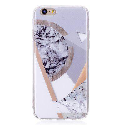 Ultra Thin Mosaic Fashion Marble Soft TPU Phone Case for iPhone 6/6S 3d doll brown bear wrapped edges tpu phone case for iphone 6s 6 yellow