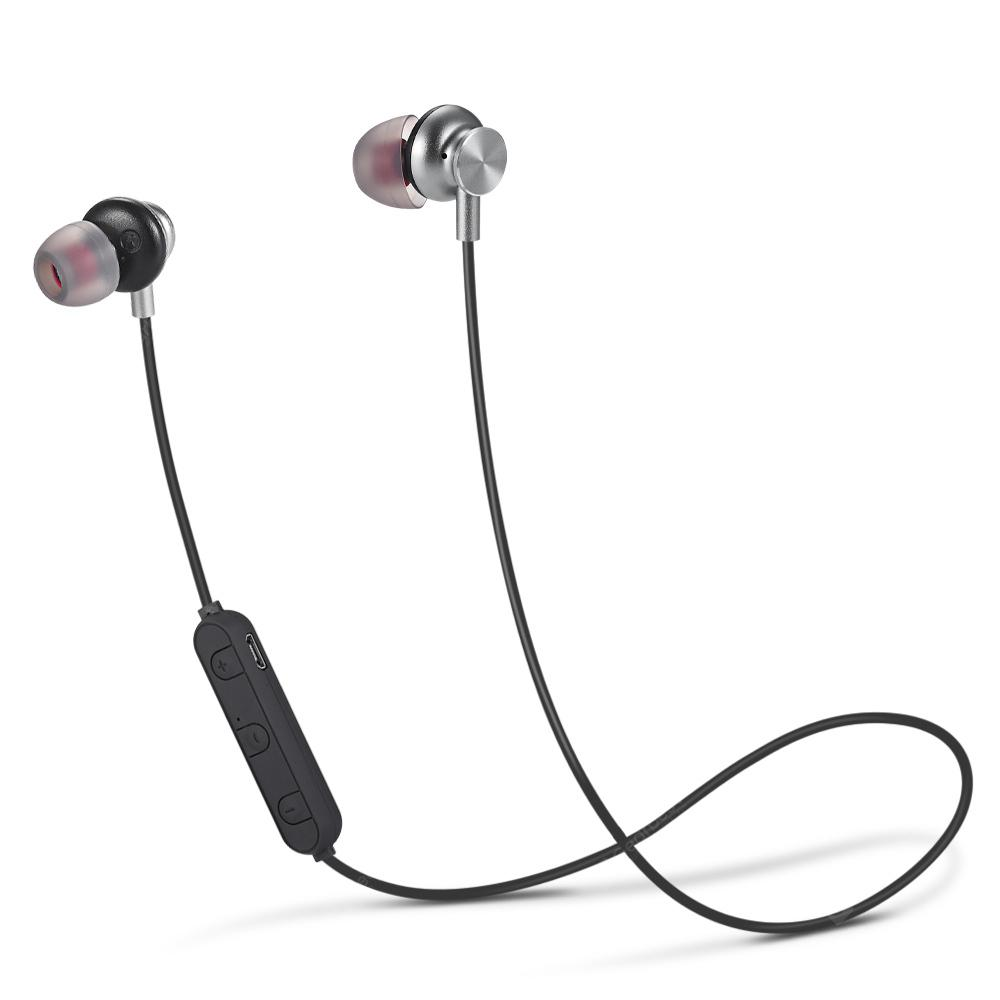 Metal Oblique Ear Motion Bluetooth Headset 4.2 Bluetooth Version
