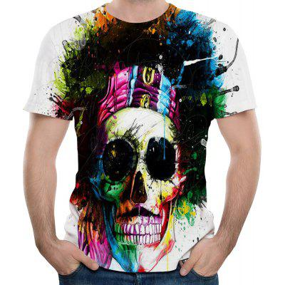 2018 New Fashion 3D Printed Men T-shirt