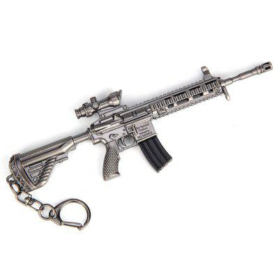 19.5CM M416 Assault Rifle Keychain Model Toy