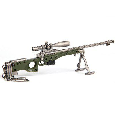 17.5CM AWM Sniper Rifle Keychain Model Toy