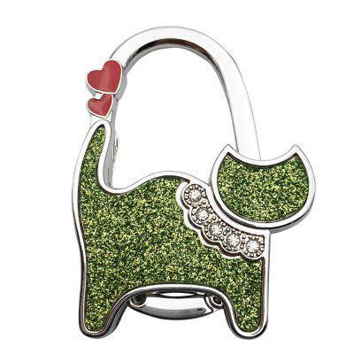 Two Hearts Cat Table Bag  Hook