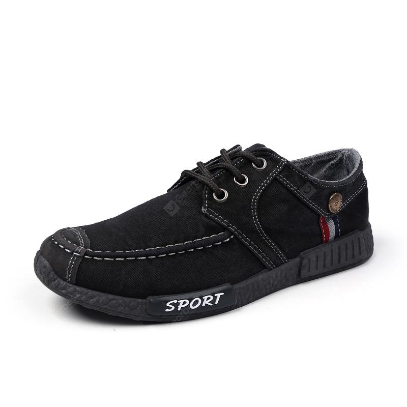 Canvas Men Fashion Summer Lace-Up Leisure Hiking Casual Sport Sneakers