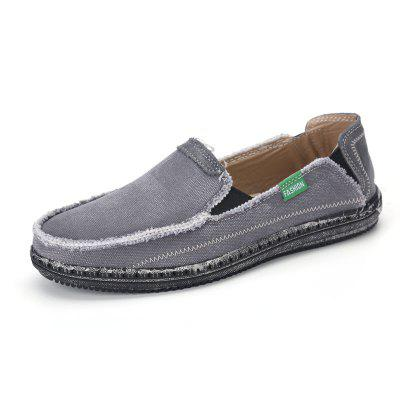 Canvas Men Loafers Summer Slip on Leisure Hiking Casual Beach Sport Sneakers