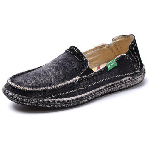 772613ac0882d1 Canvas Men Loafers Summer Slip on Leisure Hiking Casual Beach Sport Sneakers