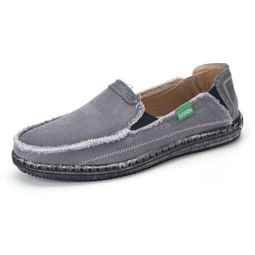e4204ede7077ef Canvas Men Loafers Summer Slip on Leisure Hiking Casual Beach Sport Sneakers  -  38.27 Free Shipping