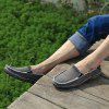 Canvas Men Loafers Summer Slip on Leisure Hiking Casual Beach Sport Sneakers - BATTLESHIP GRAY