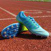 Spike Nail Training Shoes Sprint Athletic Outdoor Casual Running Sport Sneakers - DEEP SKY BLUE