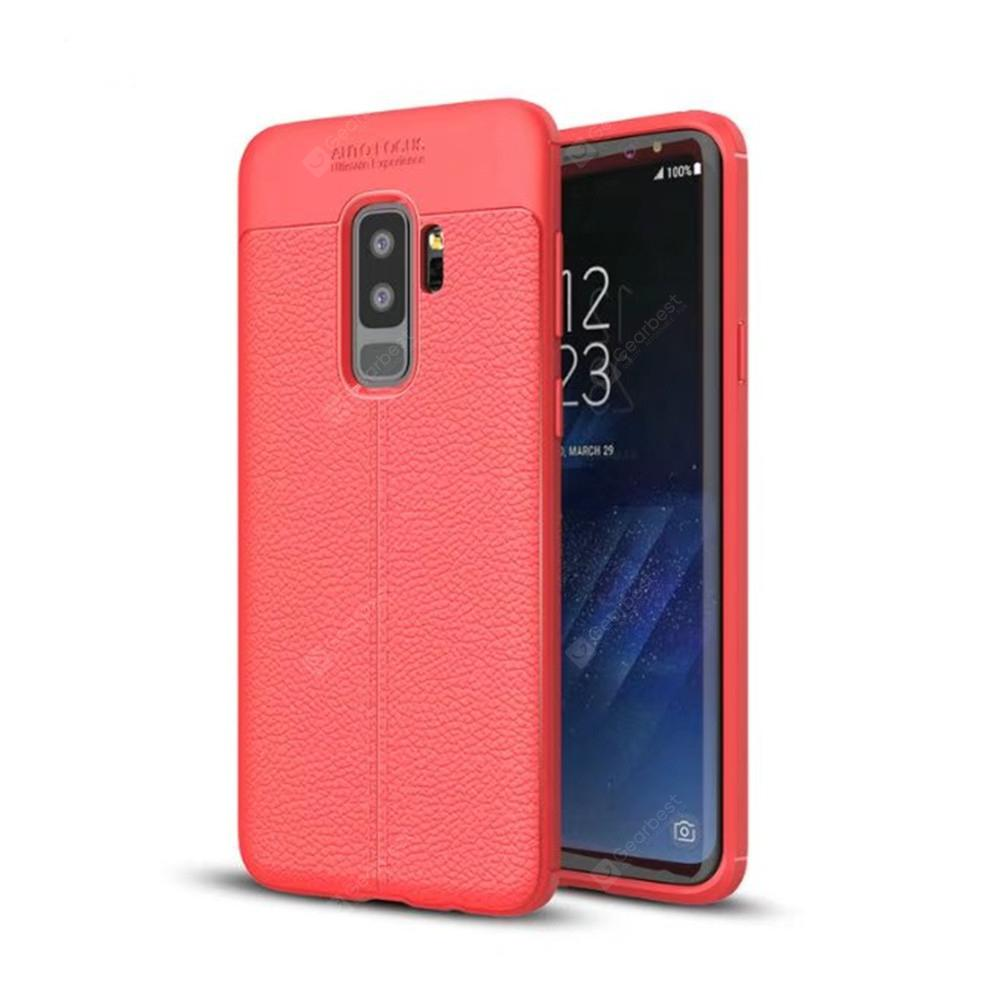 Cover Case for Samsung Galaxy S9 Plus Shock Proof Rugged Slim Protective Carb