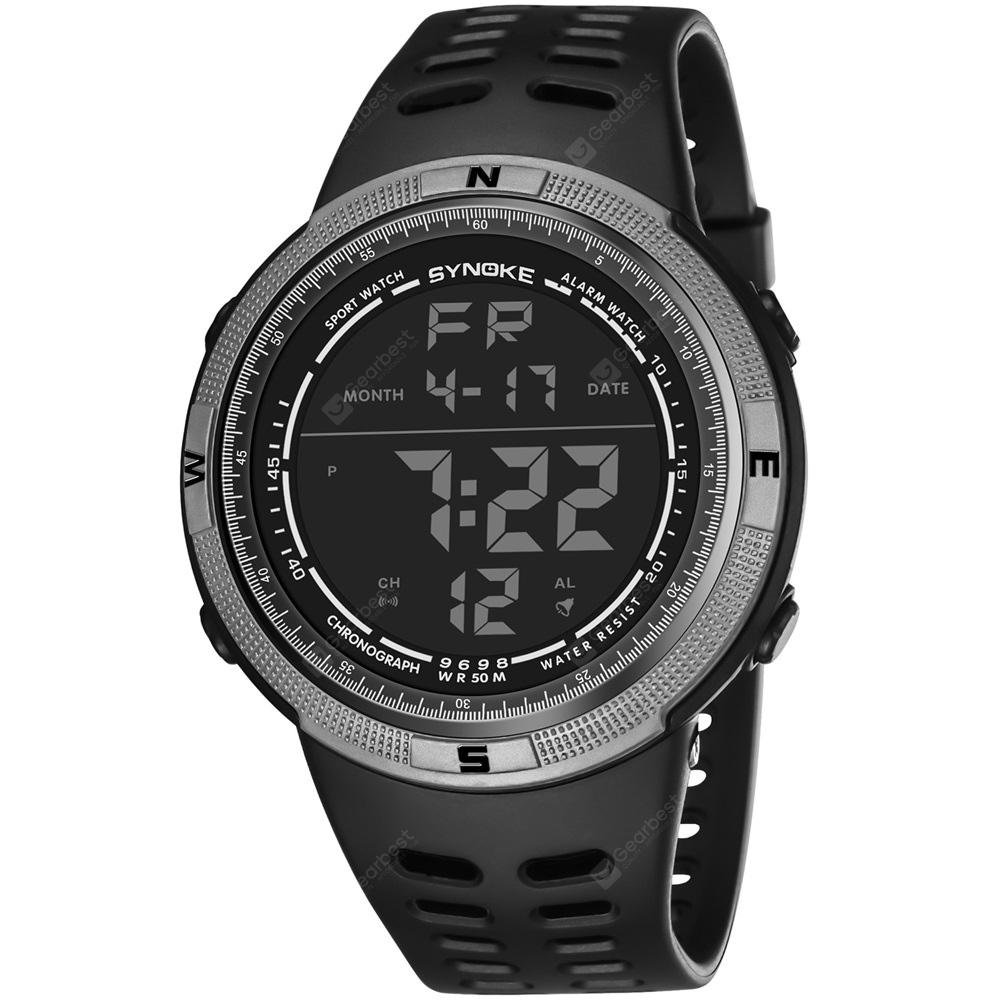 SYNOKE 9698 Men Outdoor Sports Watch
