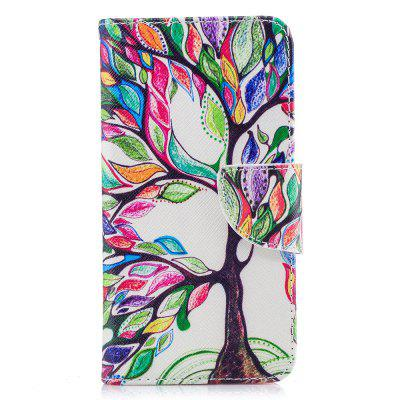 Wallet Case for Xiaomi Redmi 4X Energy Tree Pattern Flip Cover